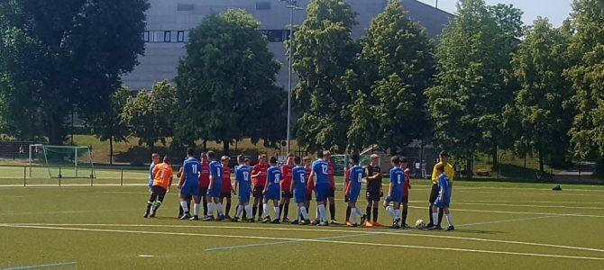 D-Junioren: Chancen für 2 Spiele aber keine Punkte beim Dresdner SC