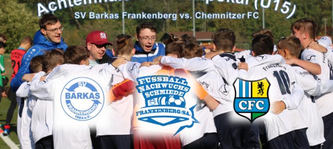 +++C1-Junioren: Vorschau auf das Achtelfinale im Sachsenpokal am 20.11.2019 +++