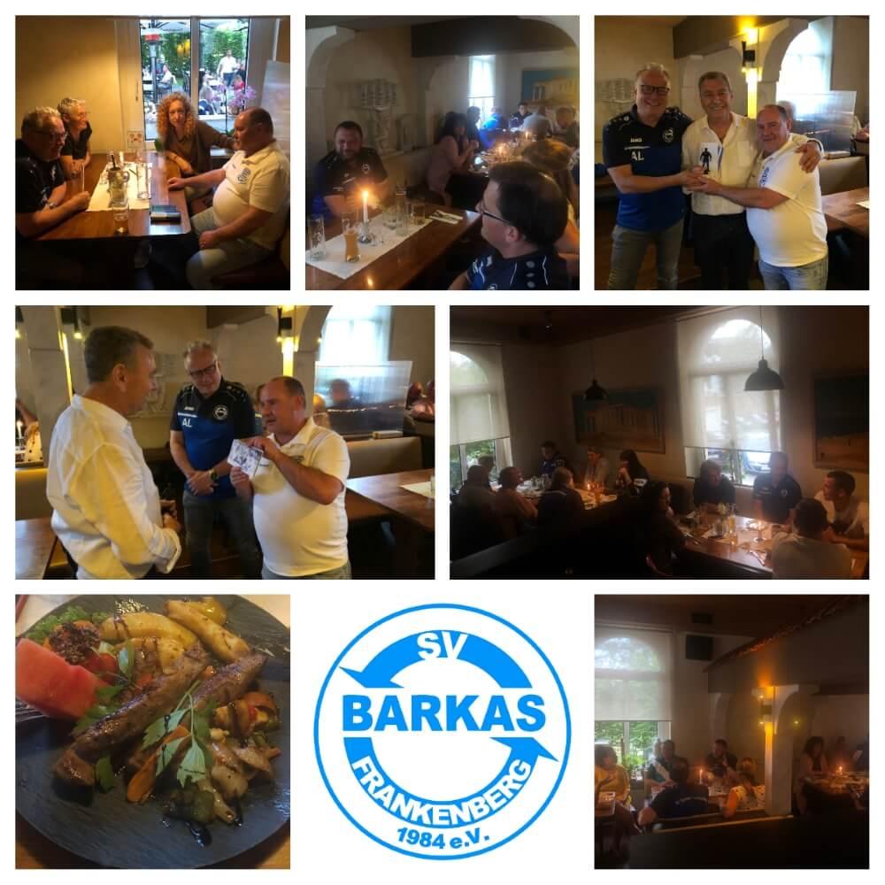 Teamabend der Ehrenamtler im Restaurant Athene - 21.07.2021