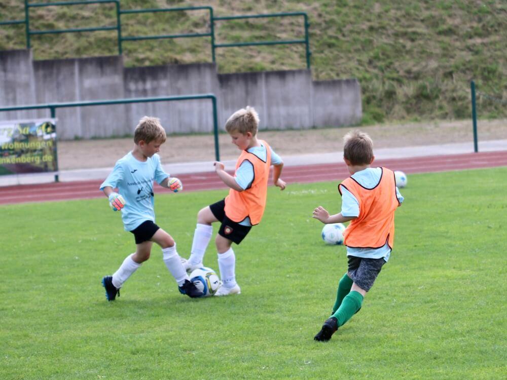 Frankenberger Sommerferien-Fußballcamp - Juli 2021