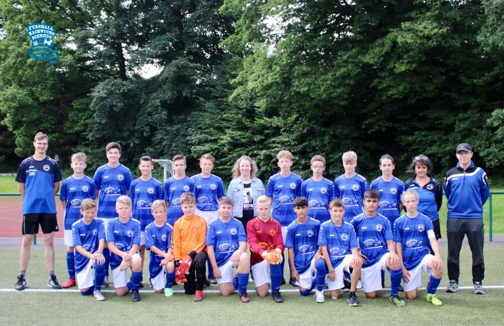 Neue Trikots SV Barkas C-Junioren von Kristin Schwalbe - 18.07.2021