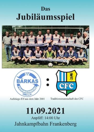 Jubiläumsspiel - SV Barkas vs. CFC - 09.11.2021