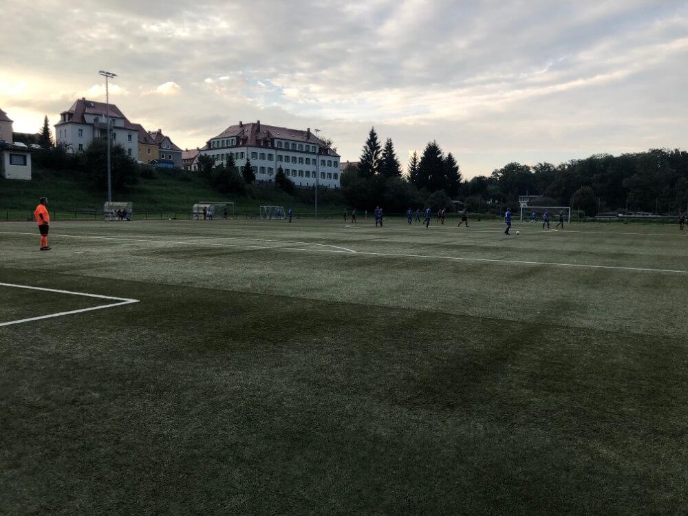 Barkas-AH gewinnen auch gegen den SV Aufbau Waldheim - 10.09.2021