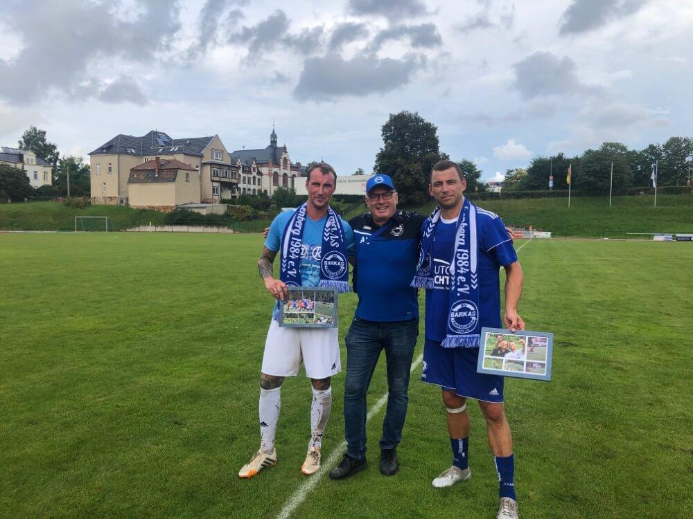 4faches DANKESCHÖN - Mike Baumann (links) & Steffen Kellig (rechts)